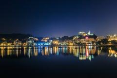 Macao natt fotografering för bildbyråer