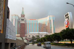 MACAO - 29 OCT: The Venetian Macao Resort Hotel in Macao on 29 O Royalty Free Stock Images