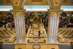 MACAO - 29 OCT: The Venetian Macao Resort Hotel in Macao on 29 O Stock Images