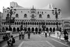 MACAO - 29 OCT: The Venetian Macao Resort Hotel in Macao on 29 O Royalty Free Stock Photos