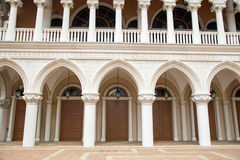 MACAO - 29 OCT: The Venetian Macao Resort Hotel in Macao on 29 O Royalty Free Stock Photo