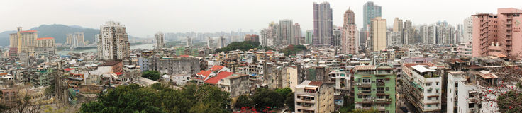 Macao Panorama Stock Photography