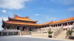 MACAO, PEOPLE'S RÉPUBLIQUE DE CHINE - 19 octobre 2012 : Le temple de Tian Hou dans Macao a été construit en 2001 dans le style  Photo stock