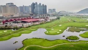 Macao pole golfowe Obraz Royalty Free