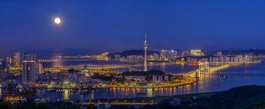 Macao scenery. Eastphoto, tukuchina,  Macao scenery, City Landmark Royalty Free Stock Photos