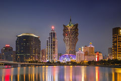 Macao scenery Royalty Free Stock Photo