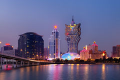Macao Skyline Stock Photos