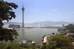 Macao Skytower Stock Photos