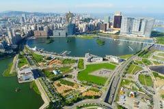 Macao stadssikt Arkivbild