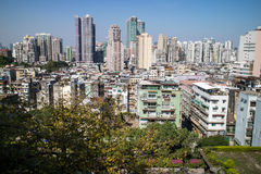 Macao-Stadt und seine Skyline Stockfotos