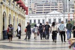Macao street Stock Photos