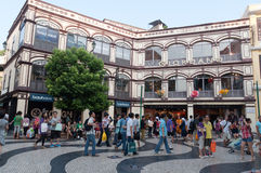 Macao street Royalty Free Stock Photography
