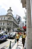 Macao street Royalty Free Stock Photo
