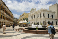 Macao street Royalty Free Stock Images