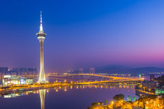 Macao torn Arkivbild