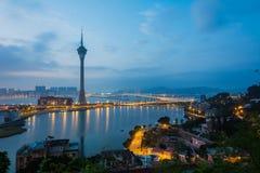 Macao: Torre di Macao Fotografia Stock Libera da Diritti