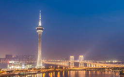 Macao : Tour de Macao Image stock