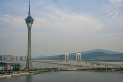 Macao tower Royalty Free Stock Photography