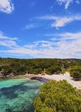 Macarella Bay on Minorca Royalty Free Stock Photo