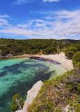 Macarella Bay on Minorca Royalty Free Stock Images