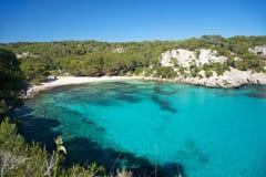 Macarella beach Royalty Free Stock Photo