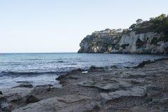 Macarella beach in menorca Stock Image