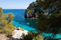 Macarelleta beach Stock Photography