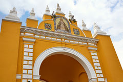 Macarena door arch in seville Stock Image