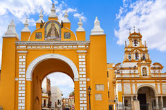 Macarena door arch in seville Royalty Free Stock Image