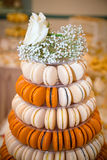 Macaron överkant Royaltyfria Foton