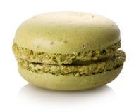 Macaron που απομονώνεται φυστίκι Στοκ Εικόνες