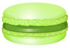 Macaron с сливк внутрь иллюстрация штока