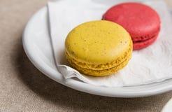 Macaron & x28; Француз Macaroon& x29; Стоковое Изображение