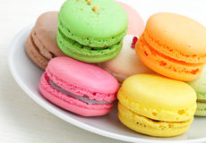 Macaron lizenzfreies stockbild