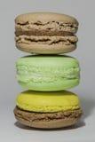 Macaron Fotografie Stock