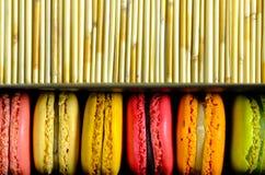 macaron Photographie stock libre de droits