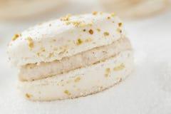 Macaron avec des écrous Photos stock