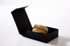 Macaron in a box Royalty Free Stock Images