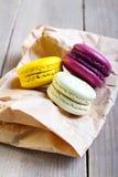 Macaron cakes Royalty Free Stock Photos