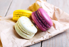 Macaron cakes Royalty Free Stock Photo