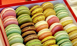 Macaron coloful dessert Royalty Free Stock Photo