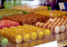 Macaron coloful dessert Royalty Free Stock Image