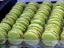 Macaron coloful dessert Stock Photo