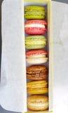 Macaron coloful dessert Royalty Free Stock Photos