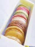 Macaron coloful dessert Stock Photography