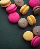 Macaron coloré Photographie stock