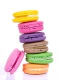 Macaron coloré assorti photos libres de droits