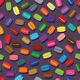 Macaron colorful seamless pattern Stock Photography