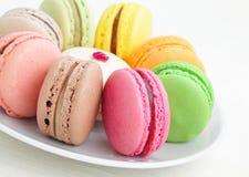 Macaron colorido Foto de archivo libre de regalías