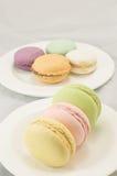 Macaron colorido Imagens de Stock
